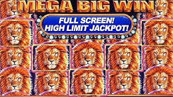 BIGGEST FULL SCREEN JACKPOT ON YOUTUBE ★ KING OF AFRICA - SLOT MACHINE ➜ MASSIVE HIGH LIMIT JACKPOT!