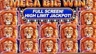 BIGGEST FULL SCREEN JACKPOT ON YOUTUBE ★ KING OF AFRICA - SLOT MACHINE ➜ MASSIVE HIGH LIMIT JACKPOT!