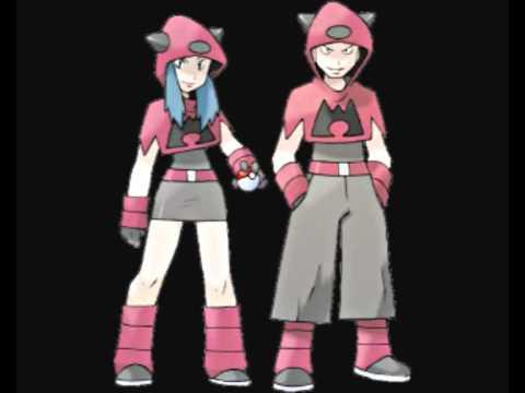 Pokemon RSE VS Team Magma-Aqua Battle Music - B/W Soundfont