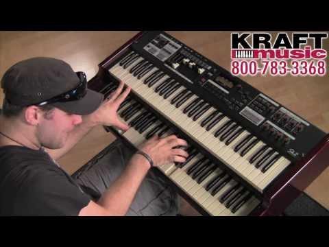 Kraft Music - Hammond SK Series Organ Demo with Scott May and Christian Cullen