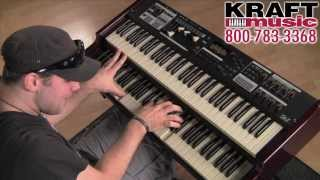Kraft Music - Hammond SK Series Organ Demo with Scott May and Christian Cullen