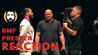 Jorge Masvidal vs. Nate Diaz Press Conference Reaction | UFC 244 | Luke Thomas