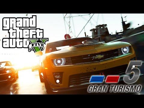"GTA 5 ""GRAN TURISMO 5"" TRAILER REMAKE! (GTA V Machinima)"