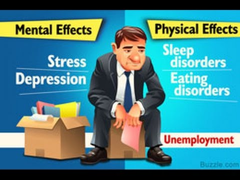 How Unemployment Affects Mental and Physical Health - YouTube