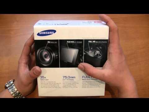 Видеообзор фотокамеры Samsung WB2100. Распаковка. Интернет магазин Veryvery.ru
