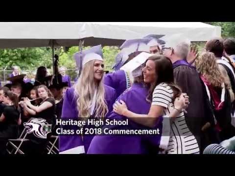 Heritage High School 2018 Commencement