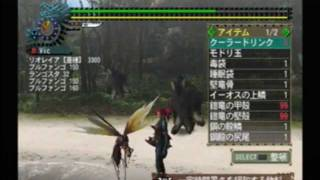 [PS2] Monster Hunter G, 2 (Jap) Monster HP-Display Code, Super Item Modifier Code (Preview)