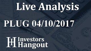 PLUG Stock Live Analysis 04-10-2017
