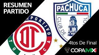 Resumen y Goles | Toluca vs Pachuca | Copa MX - Cuartos de Final