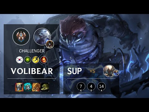 Volibear Support vs Pantheon - KR Challenger Patch 10.20