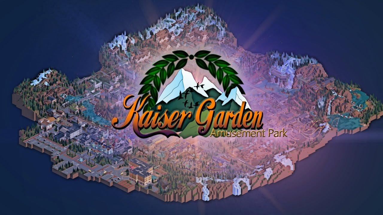 Rollercoaster Tycoon 2 Cinematic Kaiser Garden Showcase [FULLHD]