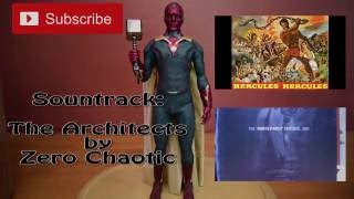 Unboxing Paul Bettany as Hot Toys Vision 1/6 Scale MMS 296 Marvel Avengers Iron Man Limited Figure