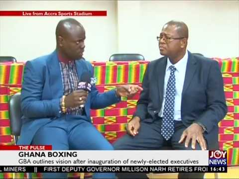 Ghana Boxing - The Pulse Sport on JoyNews (1-8-17)