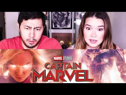 CAPTAIN MARVEL  Brie Larson  Marvel Studios   Reaction!