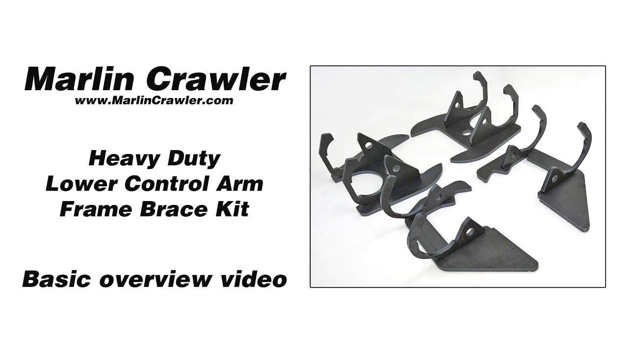 HD LCA Frame Brace, Lexus GX470 | Marlin Crawler, Inc
