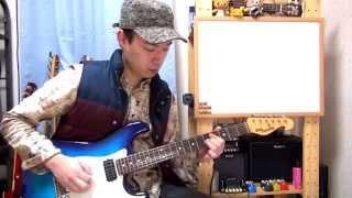 ギターレッスン【ピッキングハーモニクスを覚えよう】