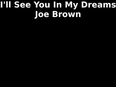 I'll See You In My Dreams - Joe Brown