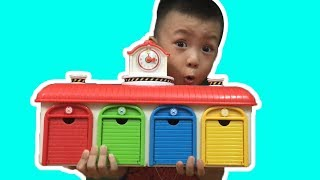 Learn Colors with Tayo Little Bus | The Surprise  For Kids
