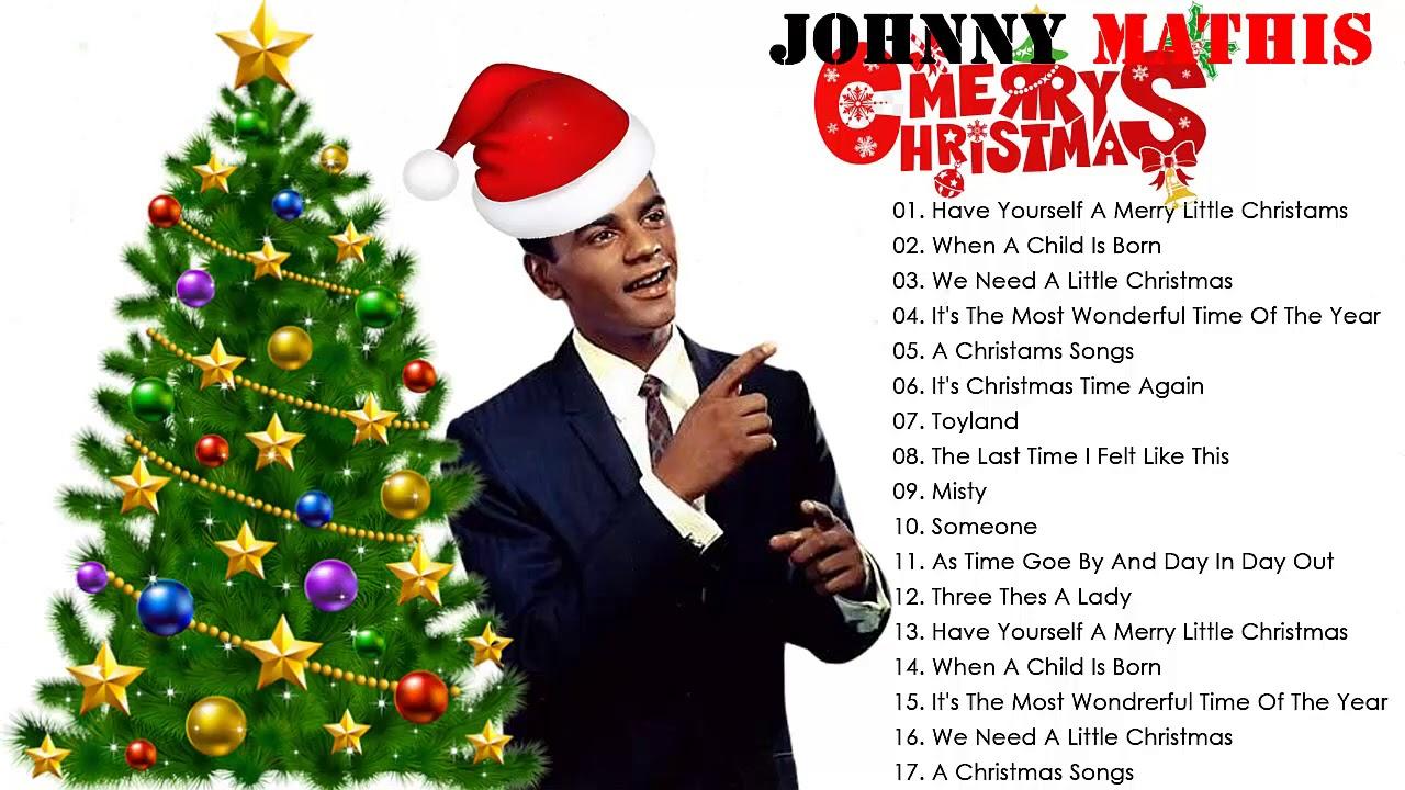 Johnny Mathis  Christmas Full Album ❄ Johnny Mathis Christmas Songs Playlist