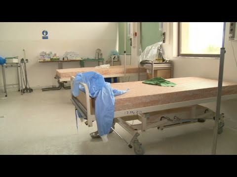 CNN: Deserted medical clinic in Libya