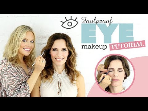 FOOLPROOF EASY EYE MAKEUP TUTORIAL