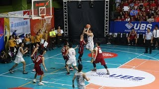 Game Highlights SMA Bukit Sion Vs SMA Dian Harapan. 2 Crazy Buzzer Beaters