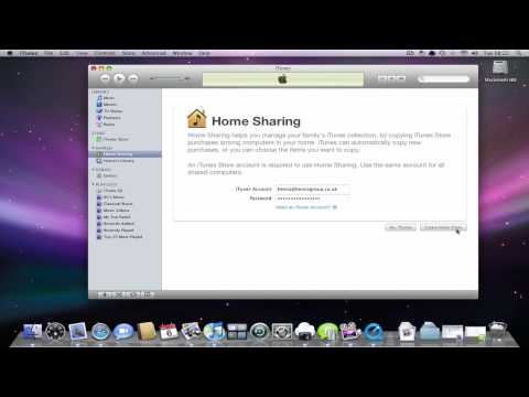 Quick Tip Set Up Home Sharing In Itunes