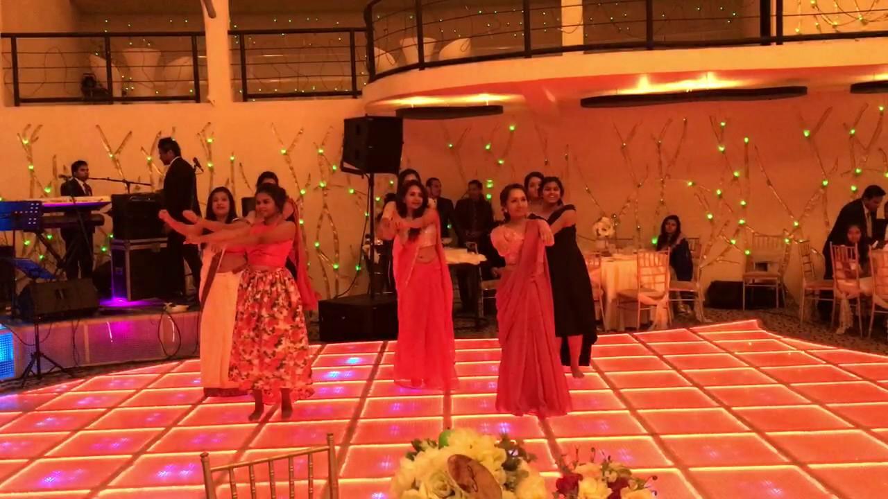 surprise dance at hirus wedding part 1 youtube