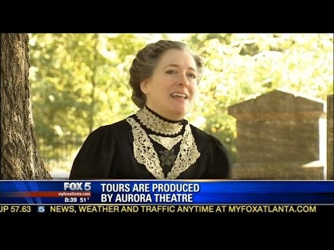 Woman gives thrilling ghost tour of Lawrenceville, Georgia