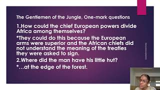 I PUC  \ ENGLISH \  THE GENTLEMEN OF THE JUNGLE- 04