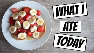 What I Ate Today #18 | How I Lost 15kgs | Healthy Protein Pancakes