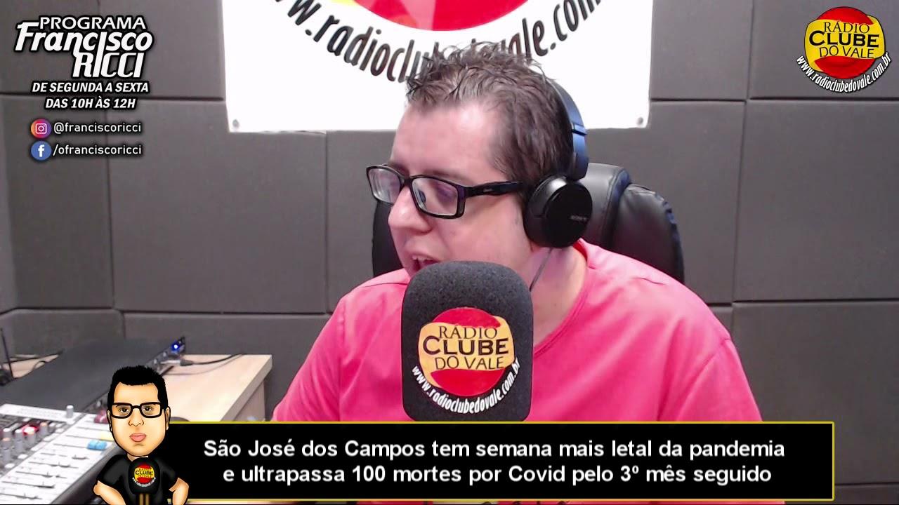 São José dos Campos tem semana mais letal da pandemia e ultrapassa 100 mortes por Covid pelo 3º mês