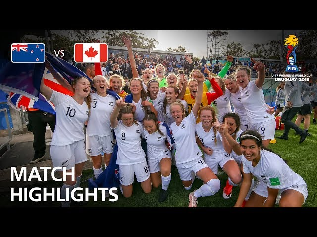 New Zealand v Canada - FIFA U-17 Women's World Cup 2018™ - Match for Third Place