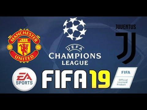 FIFA 19: UEFA Champions League - Manchester United vs Juventus ...