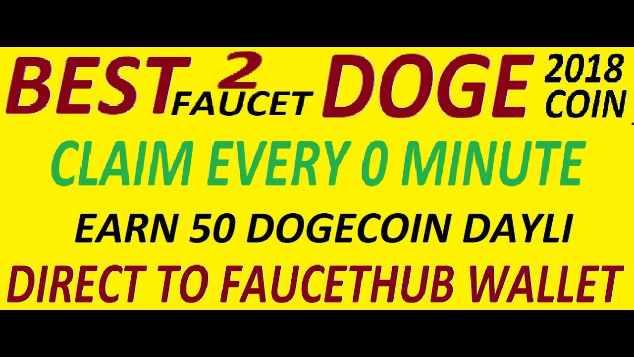 New High Paying Best Dogecoin Faucet Site - YouTube