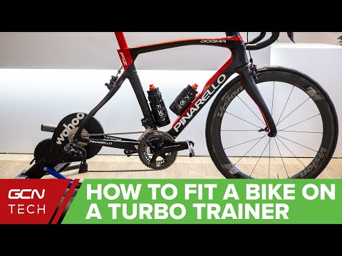 How To Fit A Road Bike Onto A Turbo Trainer