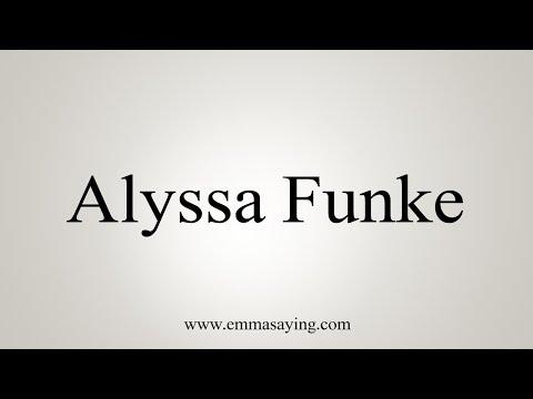 Alyssa funke tube search videos