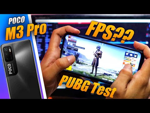 Poco M3 Pro 5G BGMI Test ⚡⚡ FPS Meter, Heating Issue, Battery Drain⚡⚡