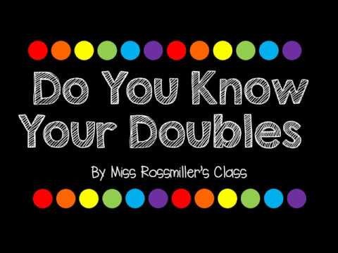 Double Facts Song First Grade Singalong - YouTube