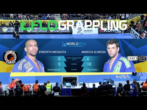 "Marcus ""Buchecha"" Almeida VS Erberth Santos / World Championship 2016"