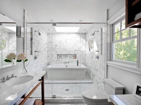 Bathroom White Tiles Dark Grout Designs