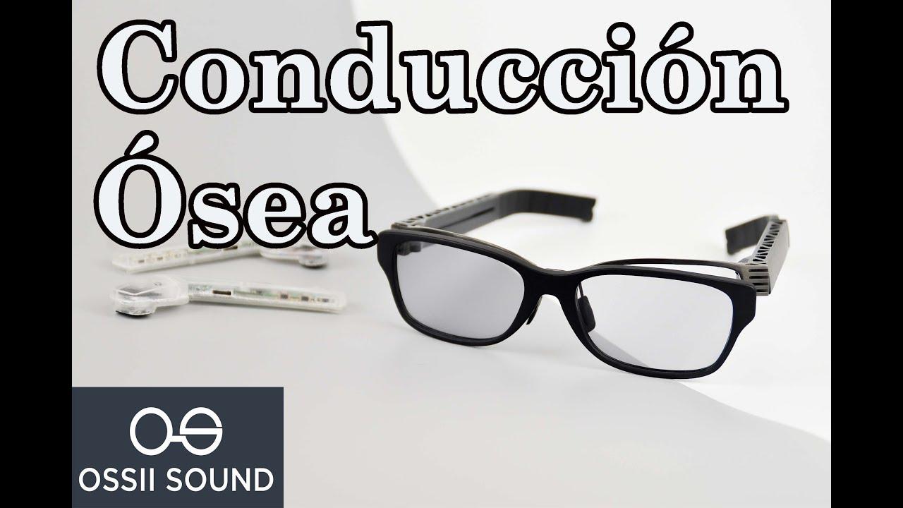 07cbf89dcd Novedosas gafas de Conducción ósea Bluetooth Escucha sin audífonos con  vibración