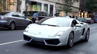 Wealthy ARAB Lamborghini Owner FLIRTS With Mercedes Girls in London! LOUD Revs + Combos!