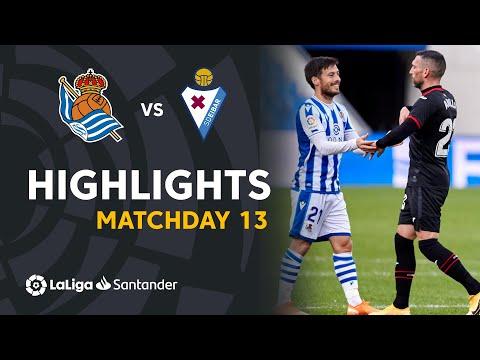 Real Sociedad Eibar Goals And Highlights