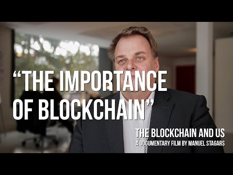 """The Blockchain and Us: Lars Thomsen on """"The importance of blockchain"""""""