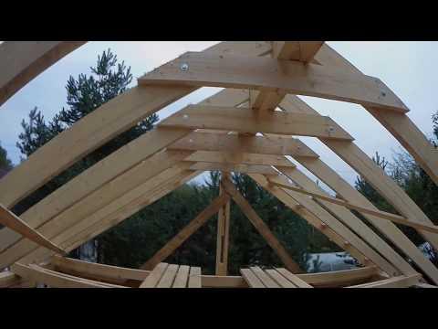видео: #11 Проект 3в1. Стропила. Кобылки. Ригеля.