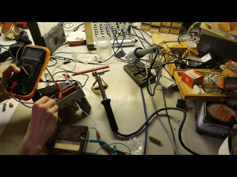 Novak car radio repair: Part 1 – Powersupply.