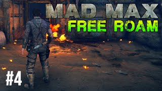 Mad Max Free Roam Gameplay #4 - New Clothes (Mad Max Single Player Free Roam)