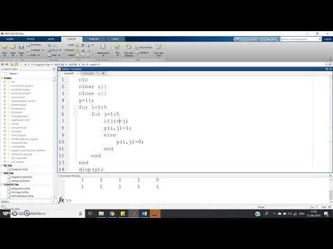 Programming concept on Lower & upper triangular MATRIX