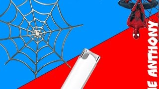Anthony - Как сделать паутину человека паука для